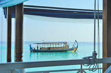 Free Maldive Traditional Fishing Boat Royalty Free Stock Photos - 19419588