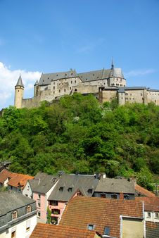 Free Vianden Castle Royalty Free Stock Photos - 19419638