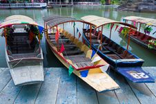 Free Thai Boat Royalty Free Stock Image - 19419656