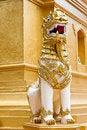 Free Singha Statue Royalty Free Stock Photos - 19428968
