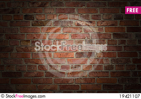 Free Old Brick Wall Royalty Free Stock Photography - 19421107