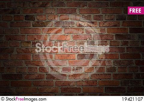Free Old Brick Wall Royalty Free Stock Photography - 19421107