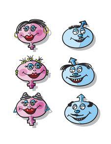 Free Heshe Cartoon Stock Photos - 19420443