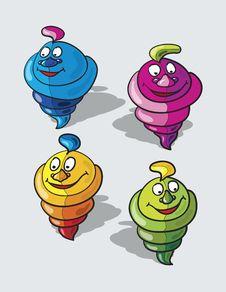 Free Ice Cream Cartoon Royalty Free Stock Photography - 19420447