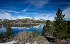 Free Stretch Of June Lake Royalty Free Stock Images - 19420509