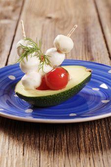 Free Vegetarian Appetizer Stock Image - 19421571