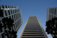 Skyscraper Perth Business District Royalty Free Stock Images