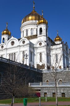 The Cathedral Of Christ The Savior, Moscow