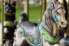 Free Merry-Go-Round Royalty Free Stock Photos - 19423688