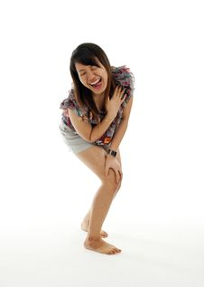 Free Young Asian Laughing Stock Photography - 19424472