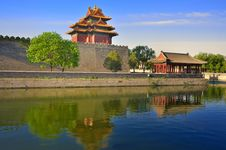 Free China Beijing Forbidden City Gate Tower Stock Images - 19425214