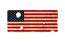Free Shaby American Flag Stock Photo - 19425220