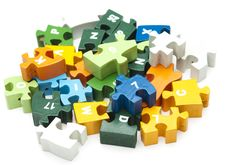 Free Wooden Puzzle Stock Image - 19426991