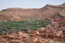 Free Town In Dades Gorge Morocco Royalty Free Stock Images - 19427039