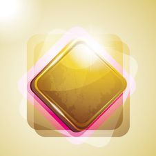 Background With Shiny Square Stock Photography