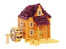 Free Watermill Made From Food Royalty Free Stock Image - 19427826