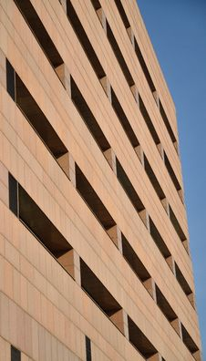 Free Abstract Pattern Of Modern Building Royalty Free Stock Photography - 19427827
