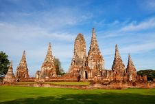 Ayutthaya Ancient Royalty Free Stock Photography