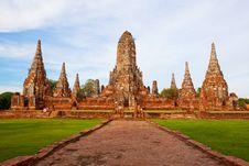 Free Ayutthaya Ancient Stock Photography - 19428142