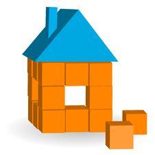 Free The House From Bricks Royalty Free Stock Photos - 19428568