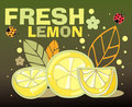 Free Fresh Lemon Card Stock Photos - 19438293