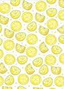 Free Fresh Lemon Background Stock Image - 19438341