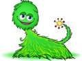 Free Green Furry Creature Royalty Free Stock Photo - 19438665