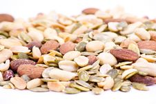 Free Nuts Collection Stock Photography - 19430342