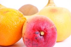 Free Mango With Tropic Fruits Royalty Free Stock Images - 19430369