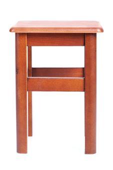 Free Wooden Simple Stool Stock Photography - 19430862