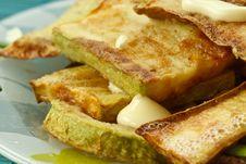 Free Fried Zucchini Stock Image - 19431021