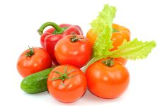 Free Fresh Vegetables Royalty Free Stock Photos - 19431048