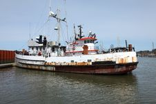 Free Fishing Vessels Old & New, Astoria Oregon. Stock Photography - 19434502