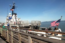 Free Coast Guard Vessel Docked, Astoria Oregon. Royalty Free Stock Images - 19434579