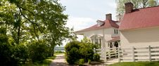 Free Colonial Mansion Mt Vernon Royalty Free Stock Photo - 19434675