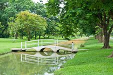 Free Tree Garden Thai Style Royalty Free Stock Photos - 19435048