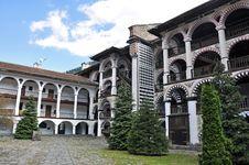 Free Rila Monastery Garden Stock Images - 19435584