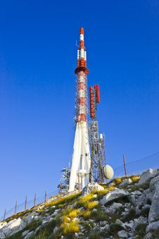 TV Tower At Biokovo, Croatia Royalty Free Stock Photo