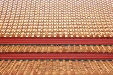 Free The Roof Of Marble Temple, Royalty Free Stock Images - 19437329