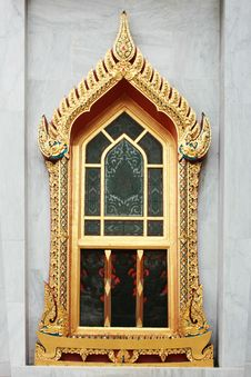 Free Oriental Window Royalty Free Stock Photography - 19437367