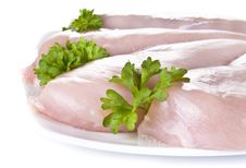 Free Raw Chicken Breasts Royalty Free Stock Images - 19437589