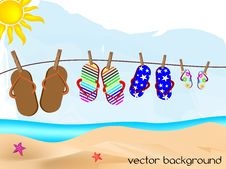 Nice Background Summer Stock Image