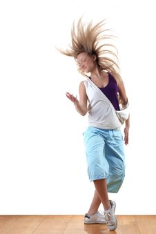 Free Dancer In Action Royalty Free Stock Photography - 19438407