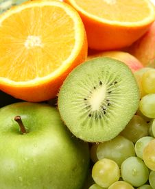 Free Fresh Fruit Royalty Free Stock Photography - 19438417
