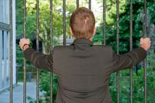 Free Young Prisoner Business Man Stock Image - 19438641