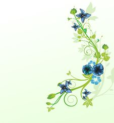 Free Abstract Floral Background Royalty Free Stock Photo - 19438815