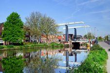 Free Maxima Bridge In Village Marken Stock Photography - 19439422