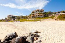 Beach Resort In Cabo San Lucas Stock Photos