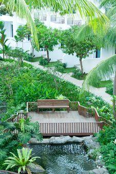 Free Tropical Resort Stock Image - 19439451