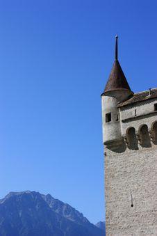 Chateau De Chillon @ Montreux, Switzerland Royalty Free Stock Photos